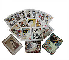 Карты игральные покерные атласные Duke Geisha 54 листа 88х63 мм (DN25239)