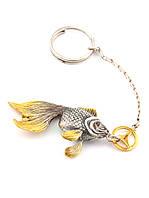Брелок Золотая рыбка Мерседес