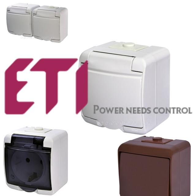 ETI розетки і вимикачі