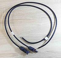 Коннекторы (соединители) для солнечных панелей, с кабелем 80 см. пара
