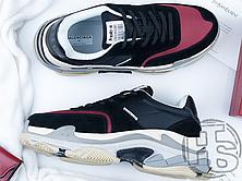 Жіночі кросівки Balenciaga Triple S v2 Black Red 182342M237001, фото 2