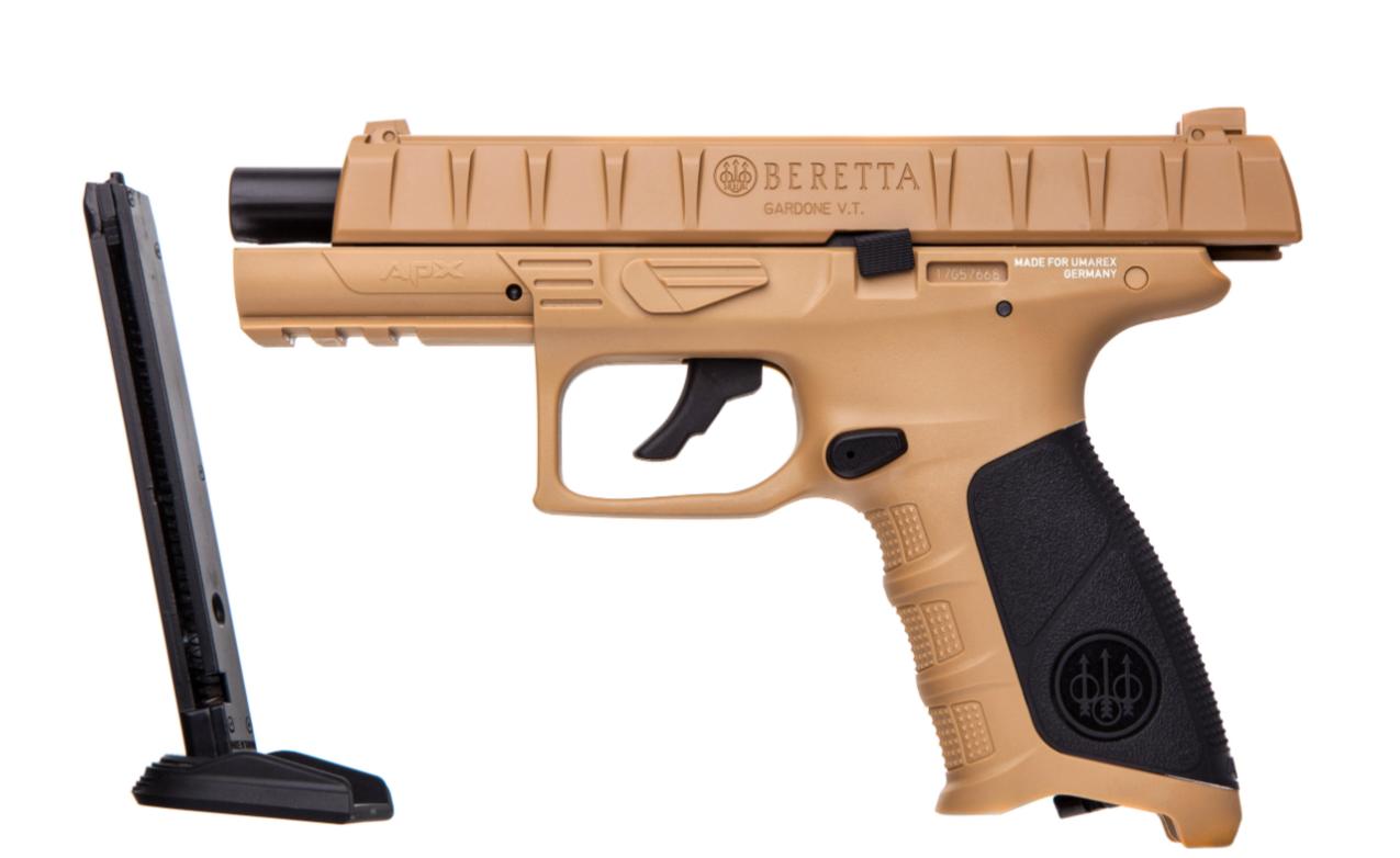 Пневматический пистолет Umarex Beretta APХ FDE