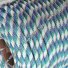 Шнур плетеный с наполнителем 12 мм – 100 м (моток полипропиленовый)