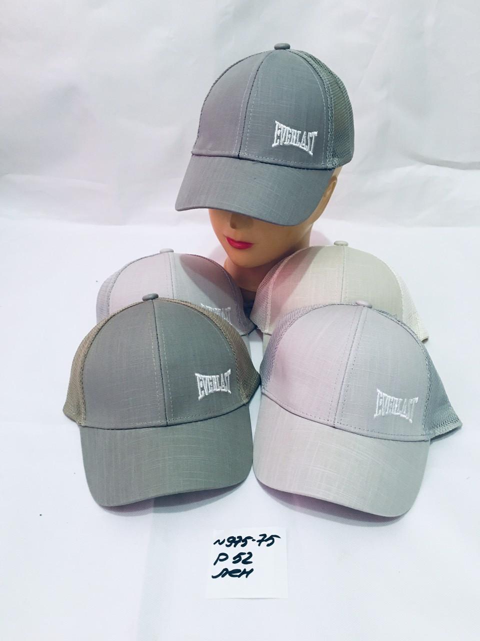 Летняя кепка для мальчика Everlast р.52 Лён