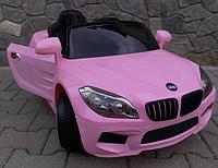 Электромобиль Cabrio В14   розовый
