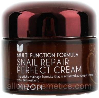 Улиточный крем для лица MIZON Snail Repair Perfect Cream 50мл