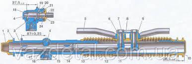 Картер рулевого механизма ВАЗ 2108