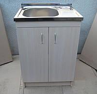 Мойка 60х50 с тумбой для кухни Donau Эко SL-19LR (глубокая), фото 1