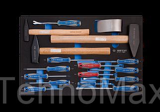Набор инструмента комбинированный  17 предмета  (EVA ложемент)