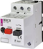 Автоматический выключатель защиты двигателя  MS25-10 ETI
