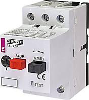 Автоматический выключатель защиты двигателя  MS25-2.5 ETI
