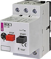 Автоматичний вимикач захисту двигуна MS25-4 ETI