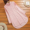 Натуральная женская рубашка (в расцветках), фото 3