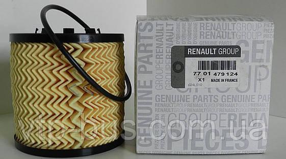 Фильтр масляный на Renault Trafic / Opel Vivaro 2.5dCi 135 л.с. c 2003 по 2006, Renault (оригинал) 7701479124