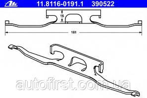 ATE 11.8116-0191.1 Планка суппорта Sprinter