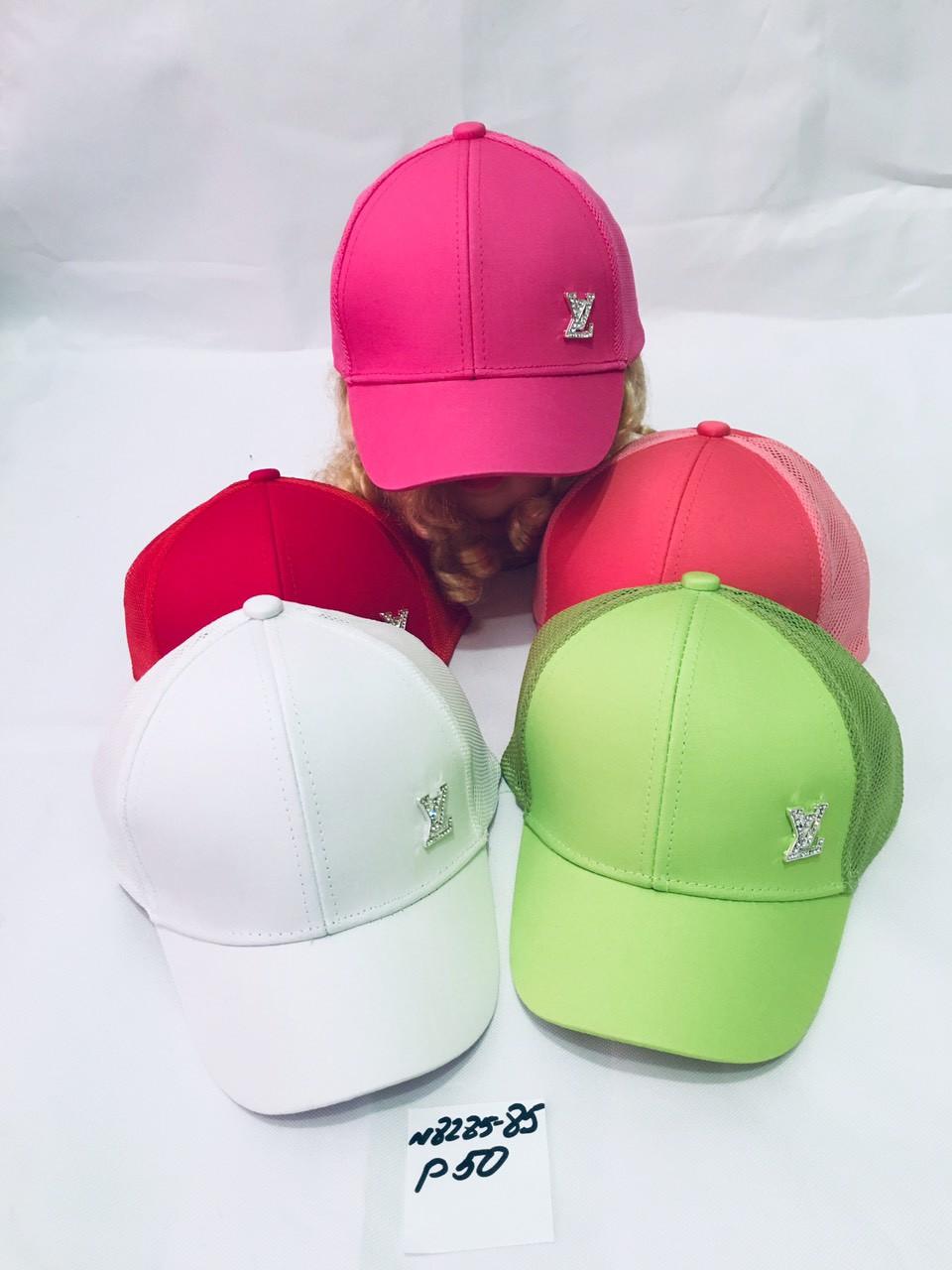 Летняя кепка для девочки с ушками LV р.50