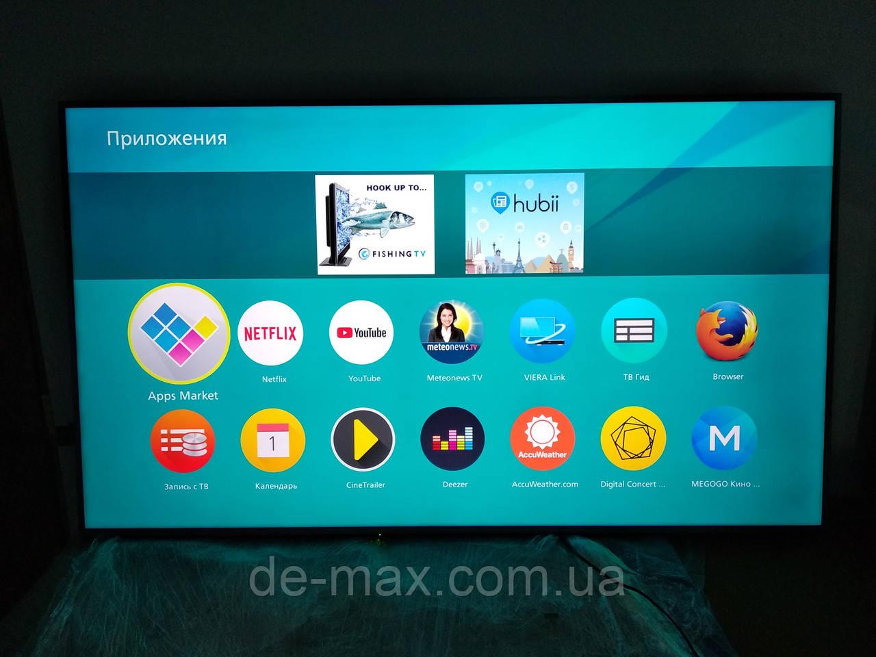Телевизор 65 дюймов Панасоник Panasonic TX-65CXW704 4K UHD Smart TV Т2 Wi-Fi 3D