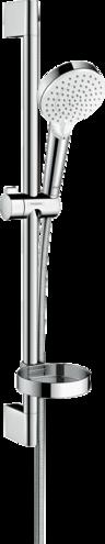 Crometta Vario Душевой набор 0,65 м, с мыльницей Casetta, белый/хром