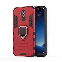Чехол Ring Armor для Huawei Mate 20 Lite Красный