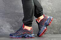 Мужские летние кроссовки Nike Air Max Tn, темно синие с красным (Размер: 43,44,45,46)