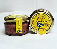 Крем-мед з чорницею 0,1л, збитий мед, кремований мед