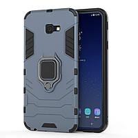 Чехол Ring Armor для Samsung SM-J415 Galaxy J4 Plus Синий