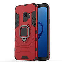 Чехол Ring Armor для Samsung Galaxy S9 SM-G960 Красный
