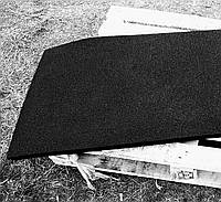 Резиновый коврик 1500х700х10 черный
