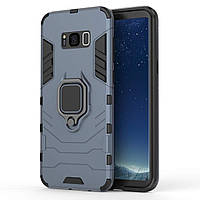 Чехол Ring Armor для Samsung Galaxy S8+ SM-G955 Синий