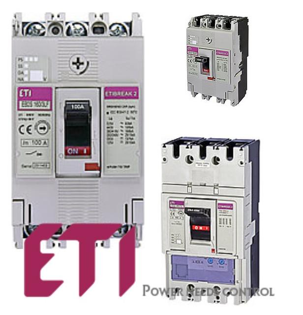 ETI промислові автоматичні вимикачі