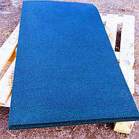 Резиновый коврик 1500х700х10 синий, фото 1