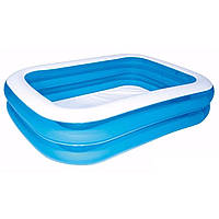 Детский надувной бассейн Bestway 54005 голубой