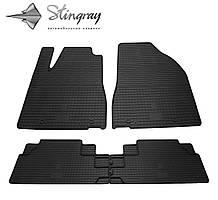 Lexus RX  2012- Комплект из 4-х ковриков Черный в салон