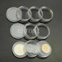 Монетные капсулы прозрачные 30 мм Набор 10 шт