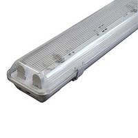 Светильник люминесцентный с рассеивателем влагозащищенный ELEСTRUM PRIZMA-218