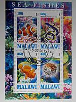 """Малави Блок """"Рыбы"""" 2013 г."""