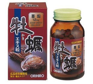 Orihiro самый высококачественный экстракт устриц  120 таб