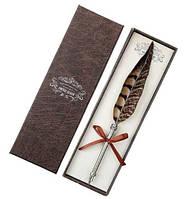 Ручка в виде пера Фазана подарочная