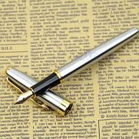 Подарочная перьевая ручка металлический корпус