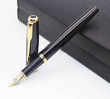 Ручка с открытым пером чернильная в черном корпусе