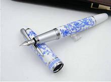 Перьевая ручка подарочная фарфор, открытое перо