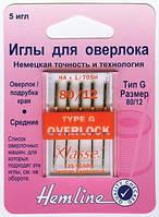Иглы для бытовых оверлоков  № 80, тип G (130705H) (2020)