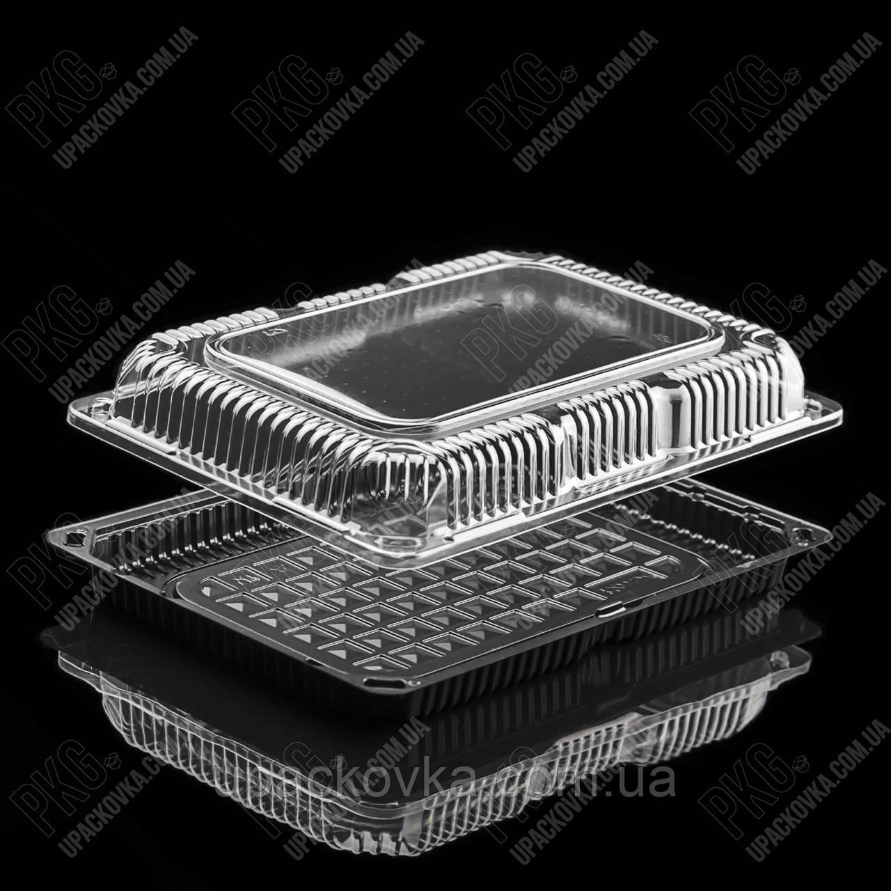Пластиковая упаковка для суши и роллов С-29