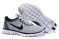 Мужские кроссовки Найк Free 3.0 v2 Grey РЕПЛИКА, фото 1