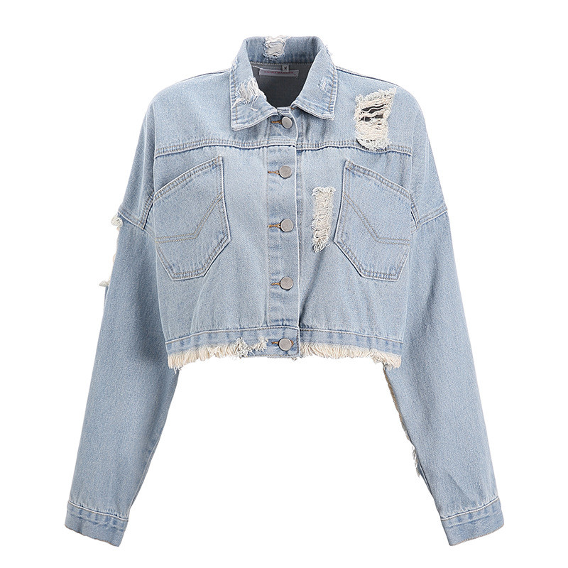 Женская джинсовая куртка СС-8606-20