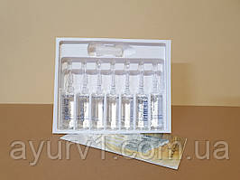 Ампулы против выпадения волос / Kleral System, Selenium Dermin Plus/ 7 флаконов по 8 мл