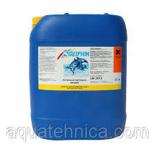 Активный кислород для бассейна Delphin жидкий 22 кг