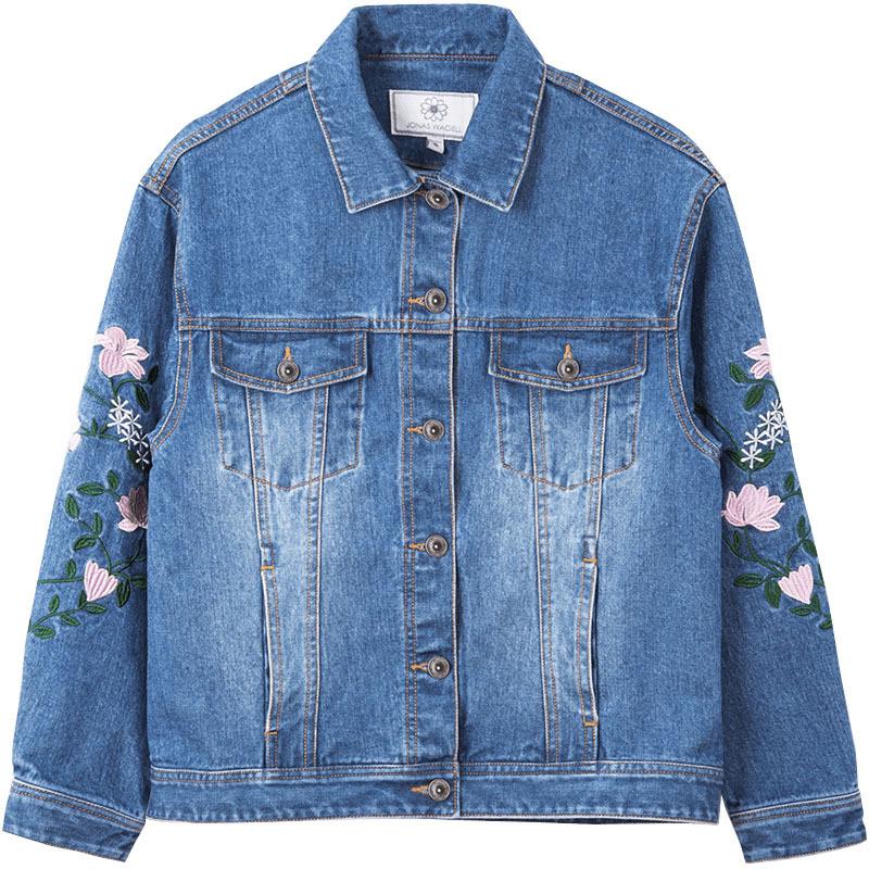 Женская джинсовая куртка СС-8607-50