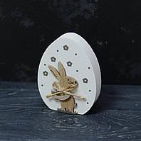 Сувенир-яйцо деревянное с декором