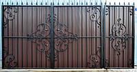 """Кованые ворота """" Гармония прямая """""""